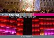 sized for TOURISM & MEETINGS - VisitBrussels