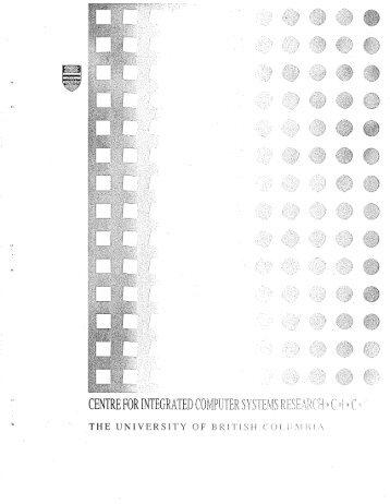 cicsr-tr91-018 - ICICS - University of British Columbia