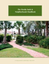 Handbook - Florida-Friendly Landscaping™ Program - University of ...