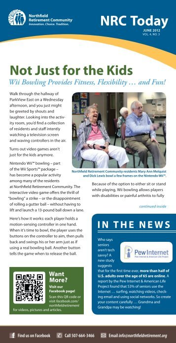 June 2012 - Northfield Retirement Community
