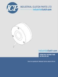 Intorq BFK461 - Manual PDF - Industrial Clutch Parts Limited