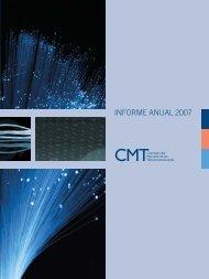 CMT - Informe anual (2007) - Informe económico sectorial