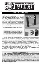 Instruction Manual - Great Hobbies