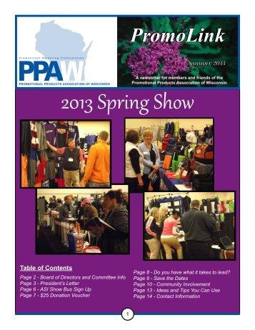 2013 Spring Show - Regional Association Council