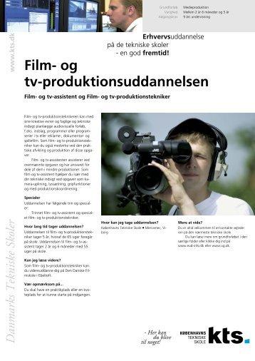 Film- og tv-produktionsuddannelsen - Københavns Tekniske Skole