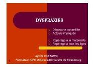 DYSPRAXIES - Sylvie Castaing - Chez