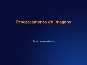 Processamento de Imagens Introdução - Unisinos