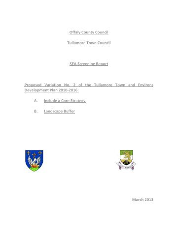 SEA Screening Report.pdf - Offaly County Council