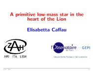 A primitive low-mass star in the heart of the Lion Elisabetta Caffau