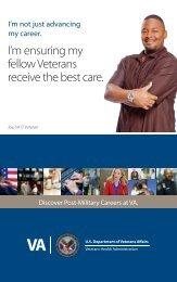 Discover Post-Military Careers at VA - VA Careers