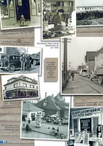 Aufnahme 1950 - Gg. L. Wagner II Autotransporte, Taxi ... - Kelsterbach
