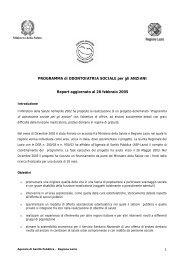 Ministero della Salute - Agenzia di Sanità Pubblica della Regione ...