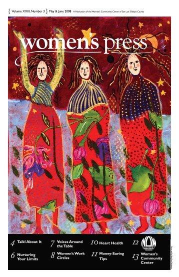 May-June 2008 - Women's Press