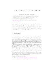 Multi-layer Perceptron on Interval Data - Fabrice Rossi