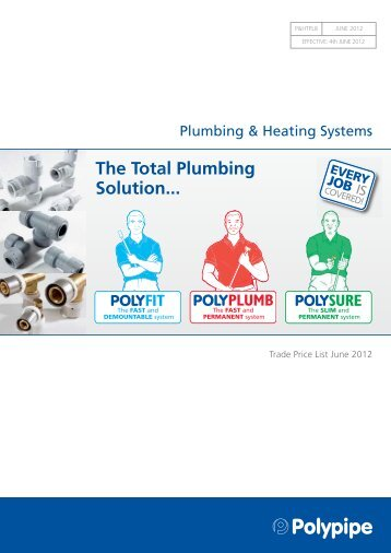 The Total Plumbing Solution... - Polypipe