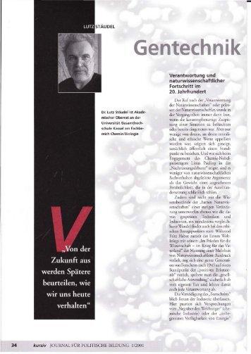 Verantwortung und naturwissenschaftlicher Fortschritt im 20 ...