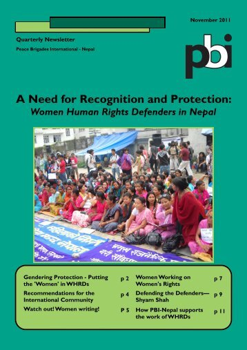 Nov 2011 - PBI Nepal