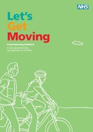 Lets Get Moving - BHF National Centre - physical activity + health
