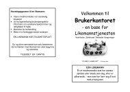 Brosjyre - Sykehuset Innlandet HF