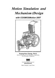 Motion Simulation and Mechanism (Design