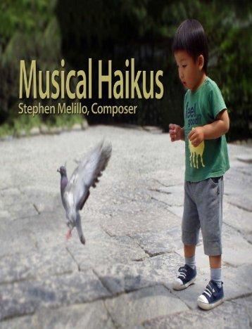 MUSICAL HAIKUS CD Collection: Libretto - STORMWORLD