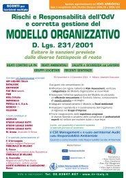 MODELLO ORGANIZZATIVO - Aodv231.it