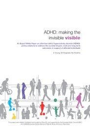 Expert White Paper on ADHD - European Brain Council