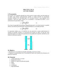 PRACTICA NO. 8 LEY DE STOKES I. Presentación. II. Objetivo III ...