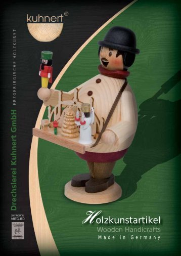 Katalog Holzfiguren / Catalogue Wooden Handicrafts (PDF 6MB)