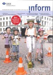 Inform Heft 2010 - Projekt Schnecke