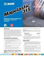 Mapelastic 315 Mapelastic 315 - Mapei