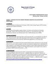 state energy program notice 10‐015 - EERE - U.S. Department of ...