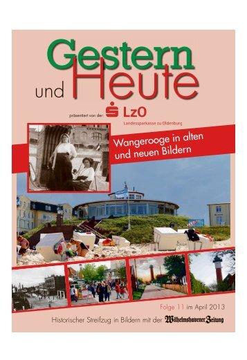 Wangerooge in alten und neuen Bildern - Wilhelmshavener Zeitung
