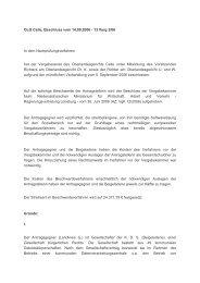 OLG Celle, Beschluss vom 14.09.2006 - 13 Verg 2/06 In dem ...