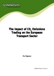 The Impact of CO2 Emissions Trading on the European ... - Vinnova