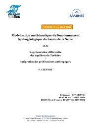 Modélisation mathématique du fonctionnement ... - Webissimo