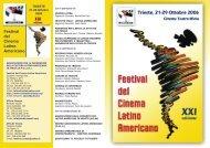 programma Trieste 2006.qxd - Festival del Cinema Latino ...