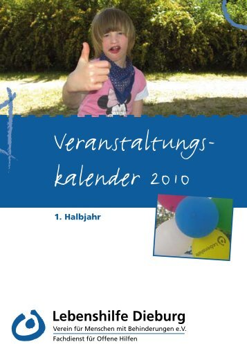 ab 09.04. - Lebenshilfe Dieburg eV