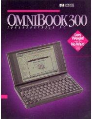 Omnibook 300 - 1000 BiT
