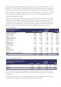 First half-year financial statements at June 30th, 2007 - touax group - Page 4