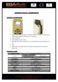 termómetro digital por infrarojos con sistema laser - Ega Master - Page 2