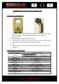 termómetro digital por infrarojos con sistema laser - Ega Master - Page 5