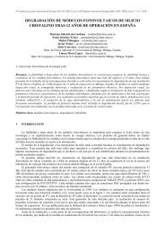 degradación de módulos fotovoltaicos de silicio cristalino tras 12 ...