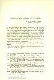 Bibliografía de Alberto Ruz Lhuillier - UNAM
