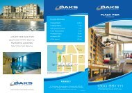 PLAZA PIER - Oaks Hotels & Resorts