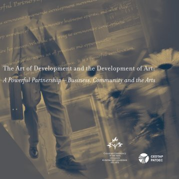 The Art of Development and the Development of Art: A Powerful ...