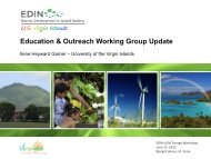 Education & Outreach Working Group Update - Energy ...