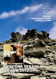 Výročná správa ŠGÚDŠ 2012 aj s prílohami (pdf - 3,2 MB) - Štátny ...