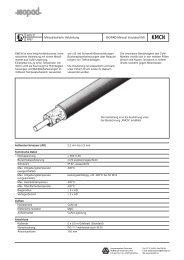 Datenblatt KMCN - HENNLICH GmbH & Co KG