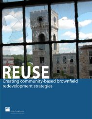 Creating community-based brownfield redevelopment strategies